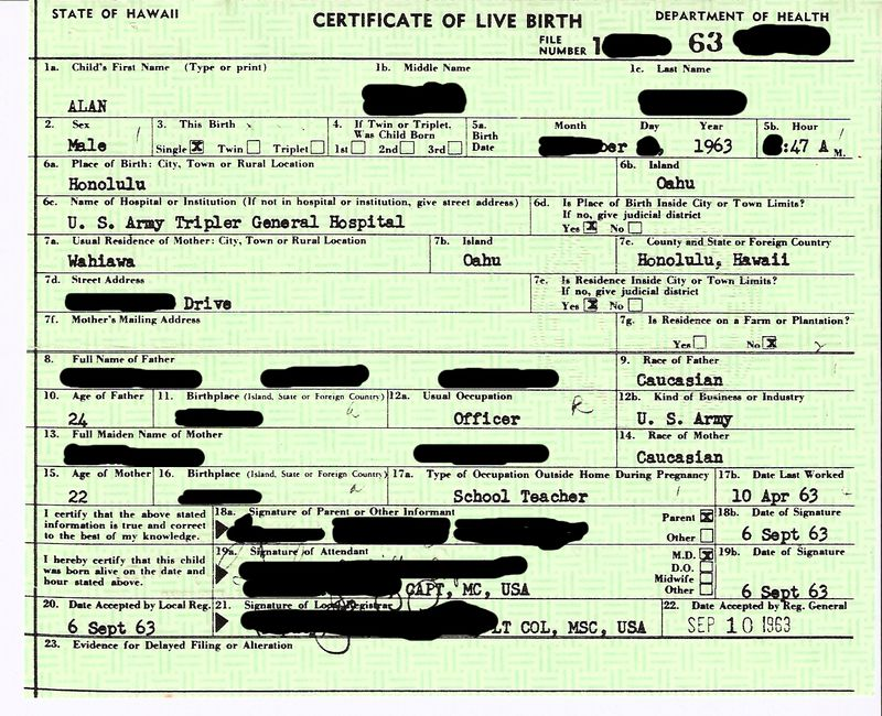 Hawaii-birth-certificate-1963